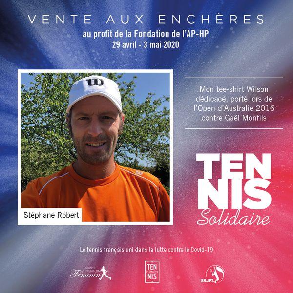 Tennis Solidaires vente aux enchères 2